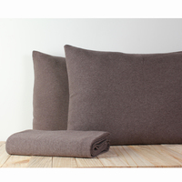 Theo Pillow cover 45x70 Brown