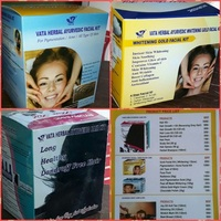 Vata Facial & Herbal Hair Kit