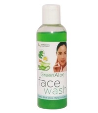Green Aloe Vera Face Wash