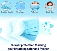 3 Ply Mask With Melt Blown