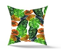 TROPPICAL GOODNESS_SQUARE PILLOW COVER