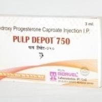 Hydroxy Progesterone Caproate (INJ. PULP DEPOT)