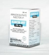 Amikacin 250 mg (INJ. KANCIN-250MG VET)