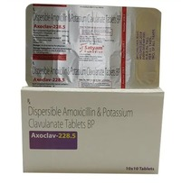Dispersible Amoxicillin and Potassium Clavulanate Tablets