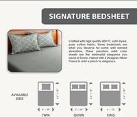 Signature Bed Sheet