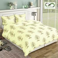 Infinite Pure Cotton King Size Bed Sheets (108 x 108 inch)