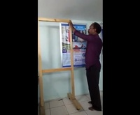 Shashwath non led board standee Easy to change the advertisement board