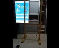 Shashwath Slimfit board standee easy to change the advertisement board