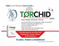Torchid Tab.(Papaya leaf ext. 1100 mg.)