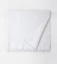 White Honeycomb Khadi Towel