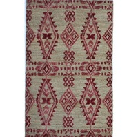 Hand Knotted Jute Soumak With Pile Carpets