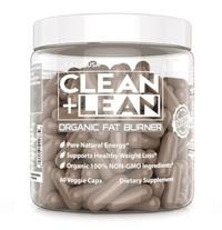 CLEAN+LEAN Organic Fat Burner, First Ever 100% Organic Fat Burner