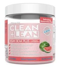 CLEAN+LEAN Vegan BCAA Plus Plant Fermented BCAA Booster