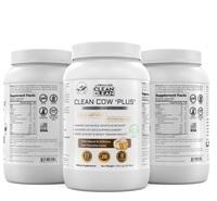 CLEAN +LEAN Organic Grassfed Cow Zero Carb Whey Isolate