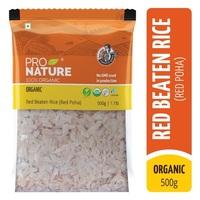 Red Beaten Rice (Red Poha)