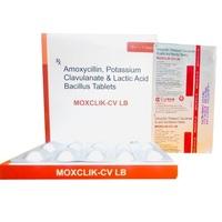 Amoxycillin Potassium Clavulanic and Lactic Acid Bacillus Tablets