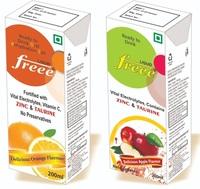 FREEE Liquid (Apple Flavored) / (Orange Flavored)
