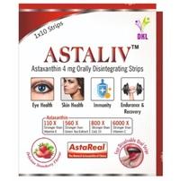 Astaxanthin 4 mg Orally Disintegrating Strips