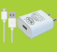 White Travel Faster Mobile Charger