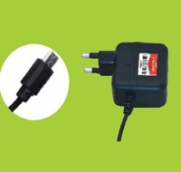 Black Travel Faster Mobile Charger