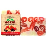Nezal  Strawberry with Mulberry Soap