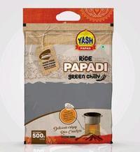 Rice Papdi