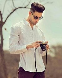 Pure White Solid Shirt