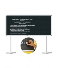 Alkosign Display Peg Boards & Pedestal Stand