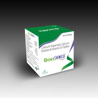 Bonsorb (Calcium Orotate, Calcium Aspartate, Vitamin D3, Hydroxocobalamine Tablets)