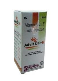 Vitamine AD3 E H inj. (INJ. ADVIT DE+H )