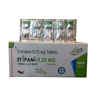 Etipam - 0.25 MD