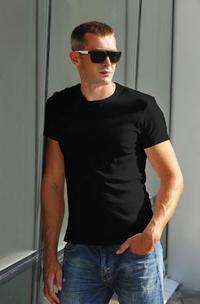 Classic Plain Mens T-Shirt