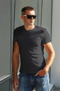Classic Plain Mens T Shirt