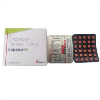 Lorazepam Tablets IP 2mg Distributors, Lorazepam Tablets IP 2mg Dealers,  Wholesalers, Suppliers