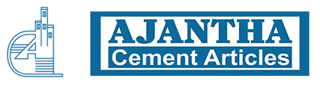 AJANTHA CEMENT ARTICLES