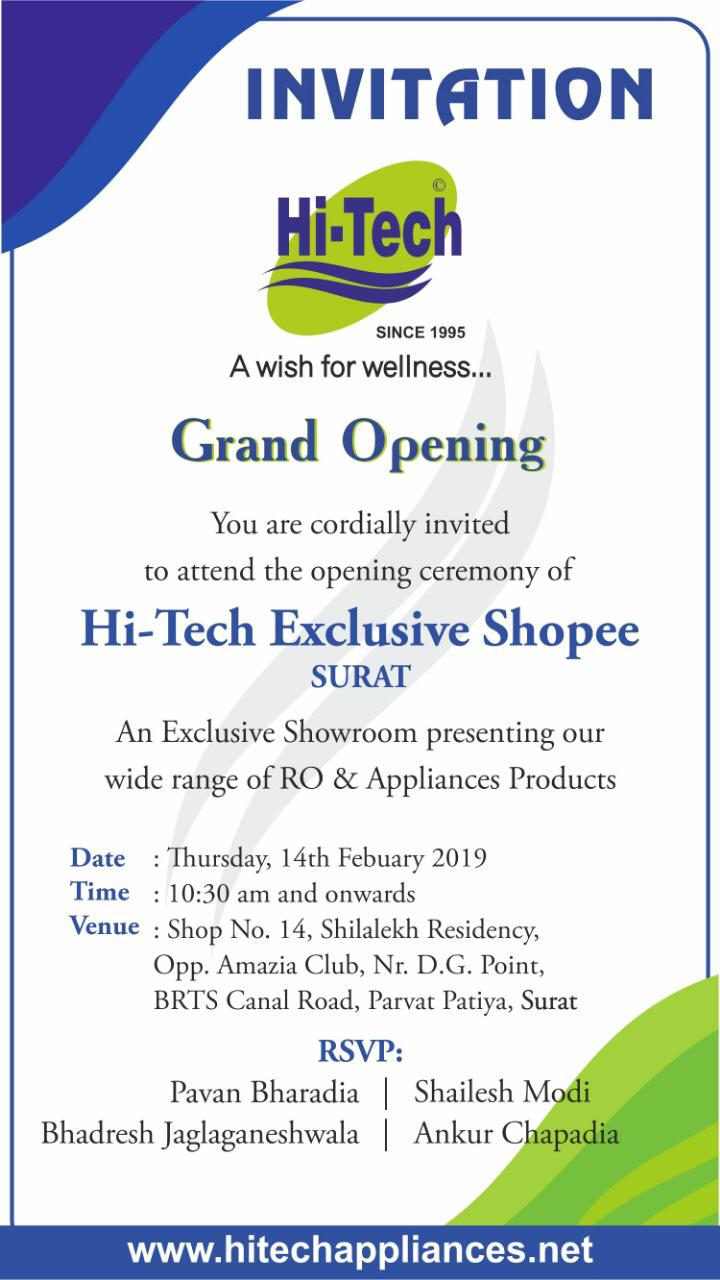 Hi-Tech Exclusive Shoppe