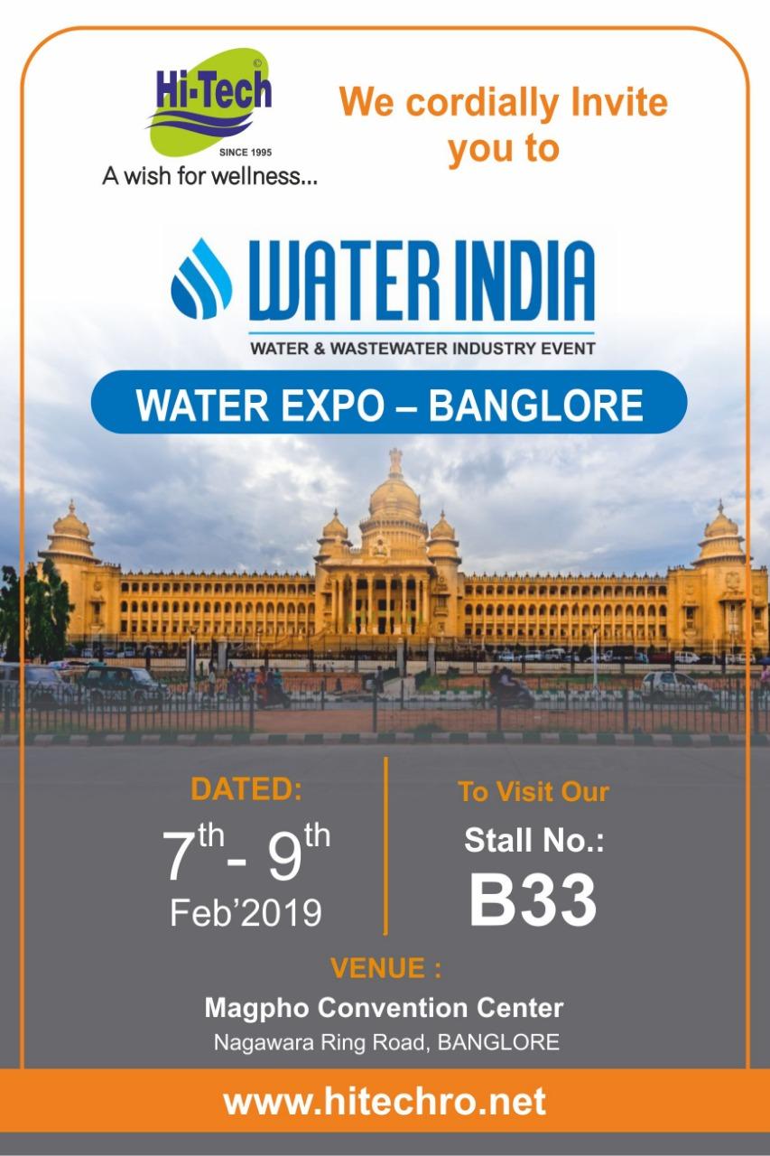 Water India Expo Bengaluru
