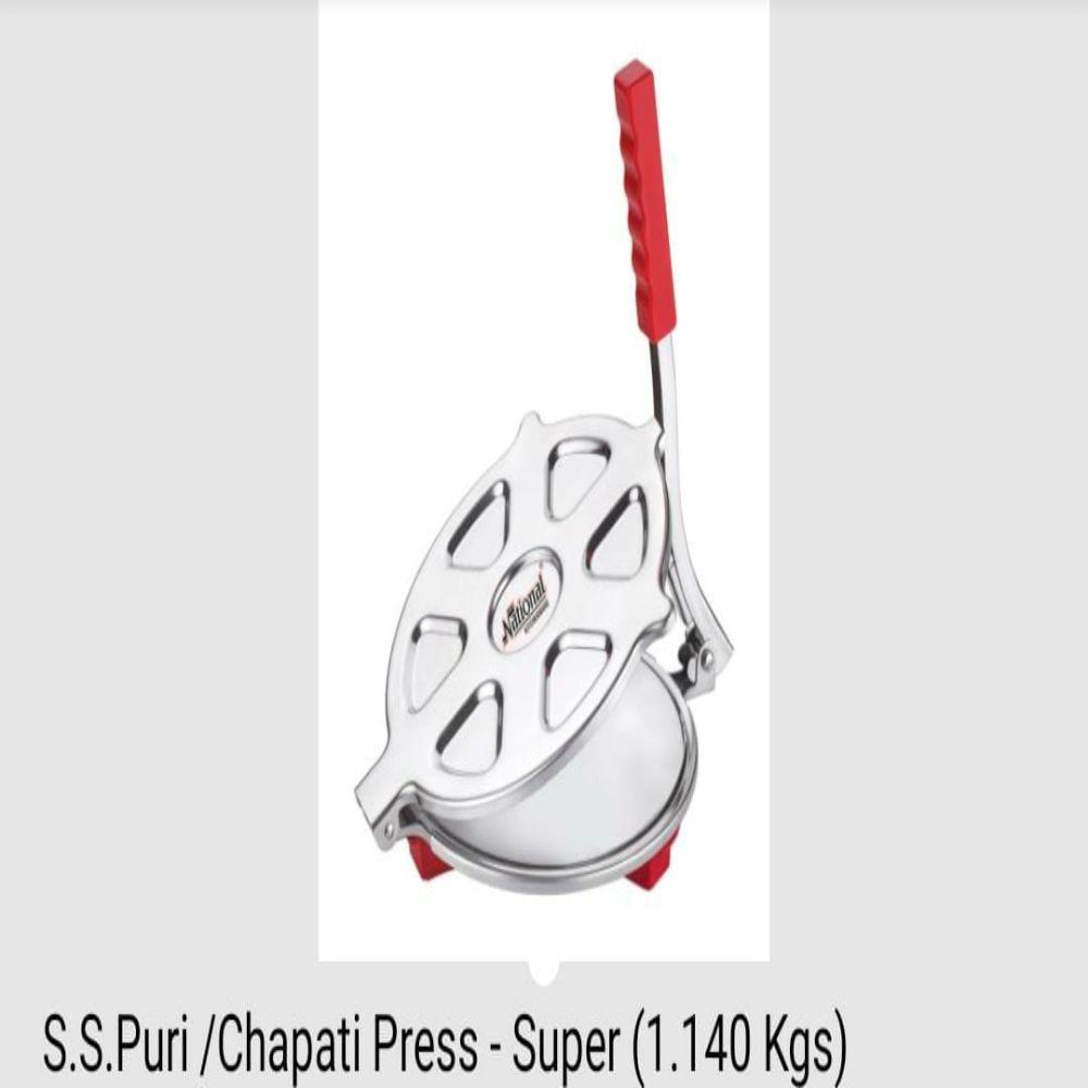 National S.s Puri And Chapati Press Super 1.140 Kgs