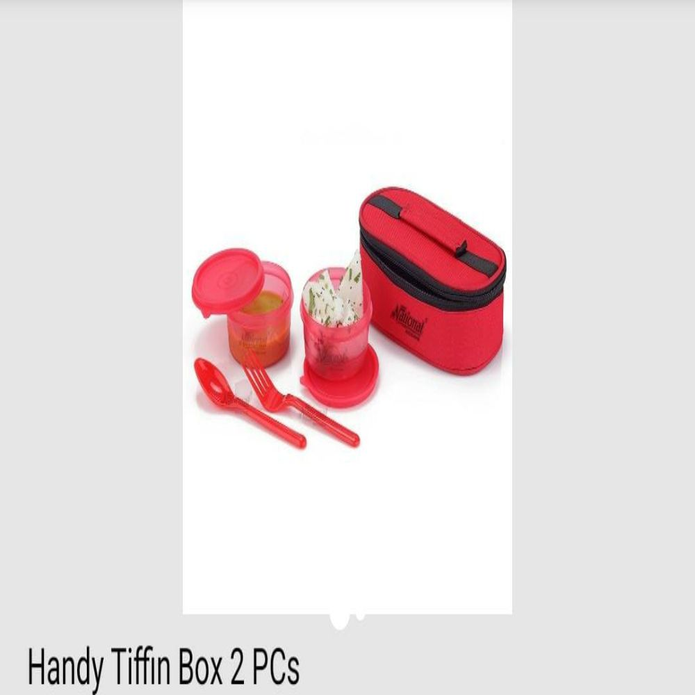National Handy Tiffin Box 2 Pcs