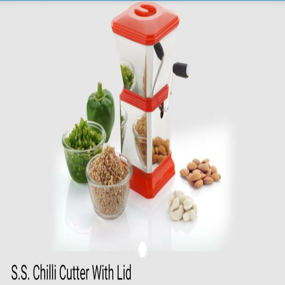 National S.s Chilli Cutter With Lid