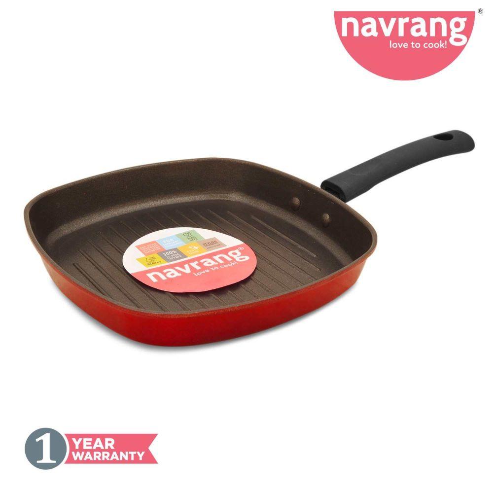 Navrang Nonstick Grill Pan