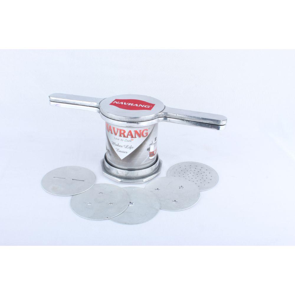 Navrang Aluminium Chakli Maker Size 4 Without Box
