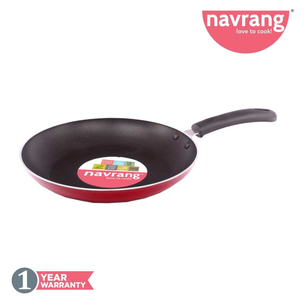 Navrang Nonstick Fry Pan Induction