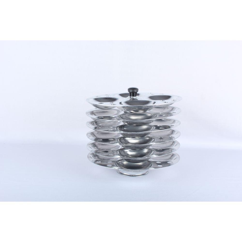 Navrang Aluminium Idly Stand 6 Plates