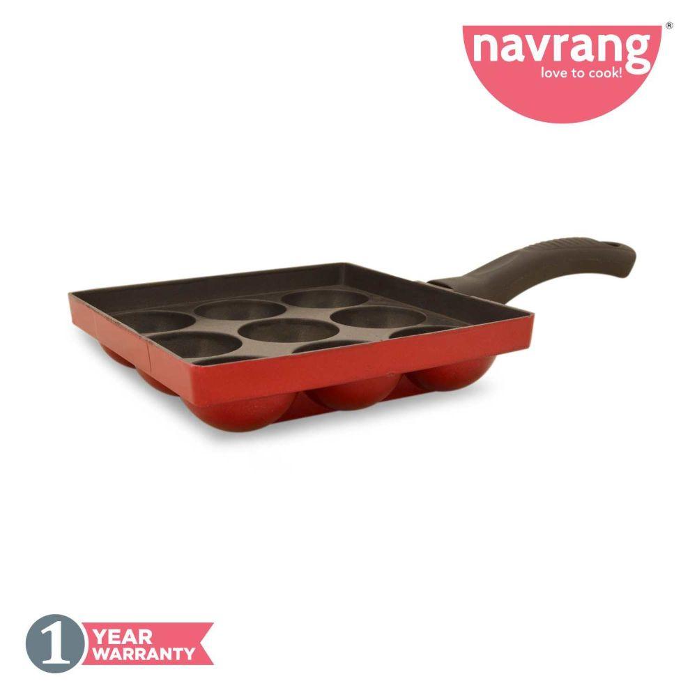 Navrang Nonstick Appakara 9 With Handle