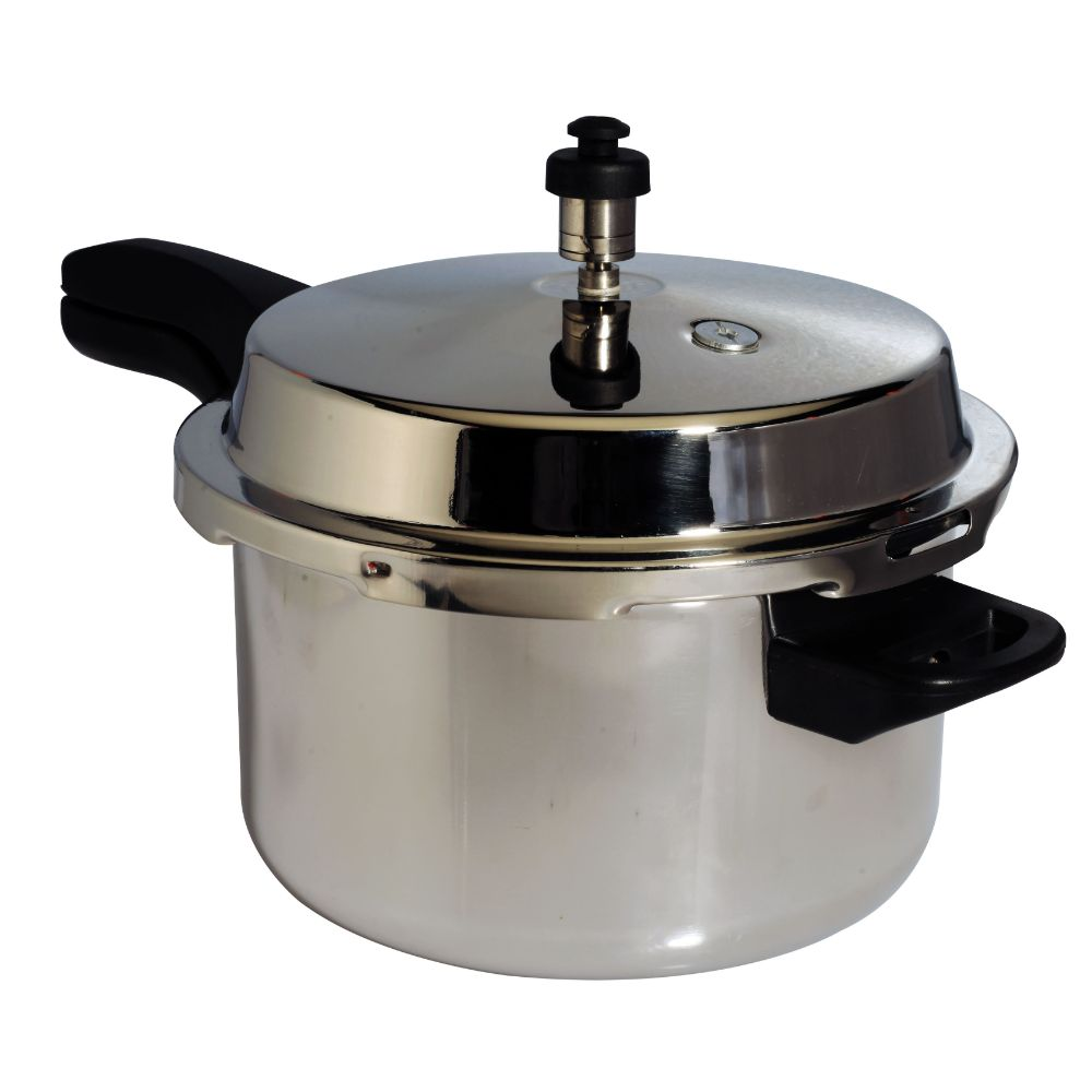 Brolly 5l Outer Lid Stainless Steel Pressure Cooker Triply
