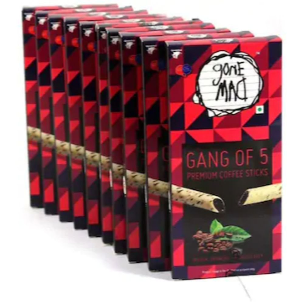 Gone Mad Premium Coffee Sticks (Gang of 5 pack of 10)
