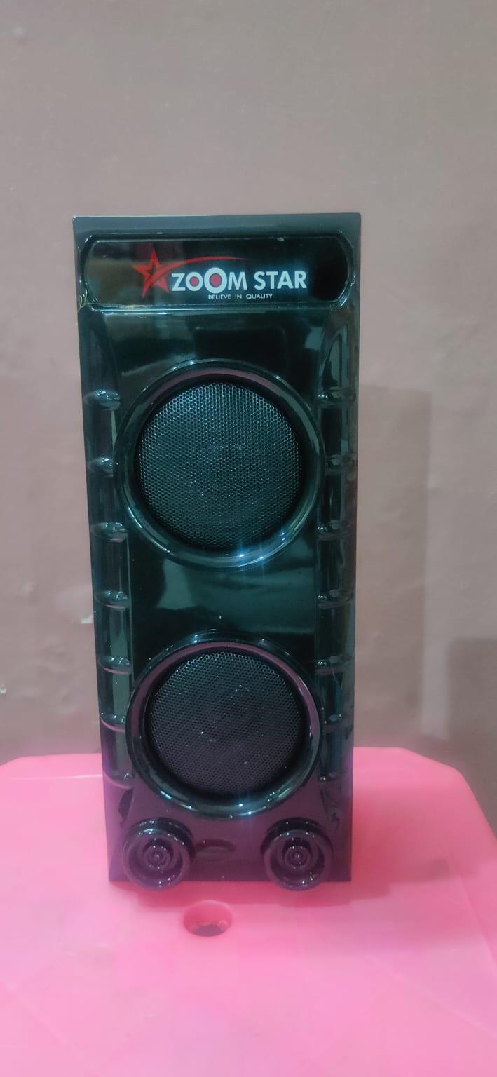 Zoom Star Zs-801 Wireless Speaker Black, 120 W