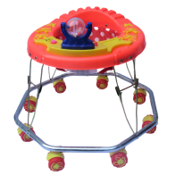 Kusum Butterfly 8 Wheel Crome Without Music Walker, Pack Of 34