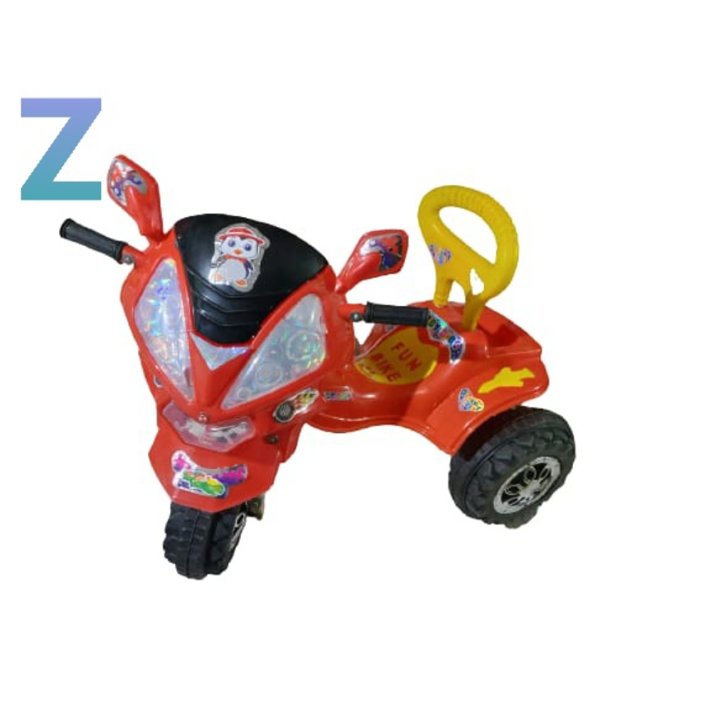 Z Tricycle For Kids, Pack Of 16